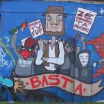 Grafitti na Avenida de Ceuta, Alcântra, Lisboa