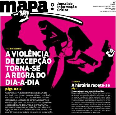 Conversa à volta do MAPA - A violência de excepção torna-se a regra do dia-a-dia
