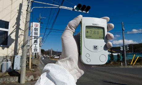 Banalizar a irradiação e a contaminação nuclear em Fukushima