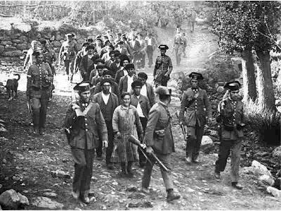 Leva de presos asturianos na sequência da greve geral revolucionária de 1934