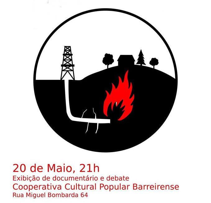 Sessão de esclarecimento sobre os perigos da exploração de Gás de Xisto no Barreiro