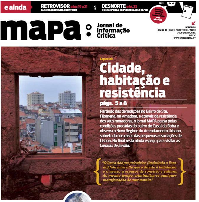 Saiu o nº6 do Jornal Mapa