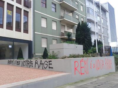Recordar o assassinato de Rémi Fraisse