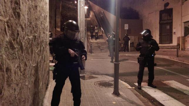 Operação policial contra movimento libertário na Catalunha