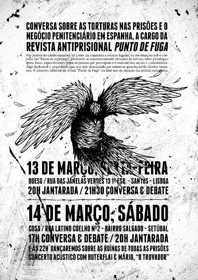 Conversa sobre as torturas nas prisões e o negócio penitenciário em Espanha