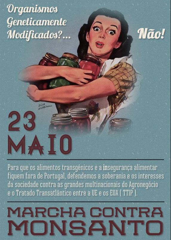 Marcha mundial contra a Monsanto