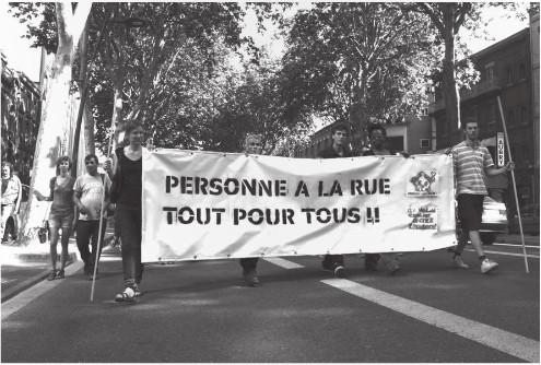 C.R.E.A. - Abrigo e Poder Popular em Toulouse