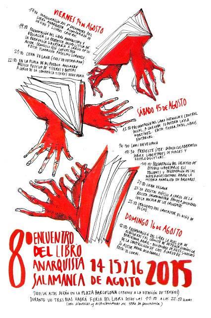VIII Encontro do livro anarquista (Salamanca)