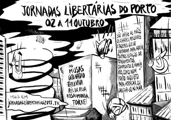 Jornadas libertárias do Porto - 2 a 11 de Outubro