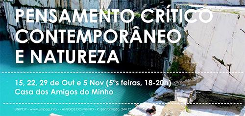 seminário: Pensamento Crítico Contemporâneo e Natureza