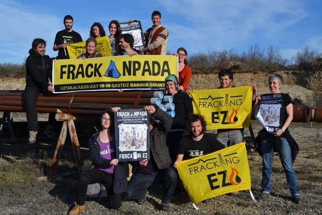 Frackampada:  Fracking? Nem aqui, nem em nenhum lugar!