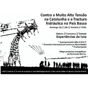 Debate: experiências de luta contra o MAT na Catalunha e o Fracking no País Basco