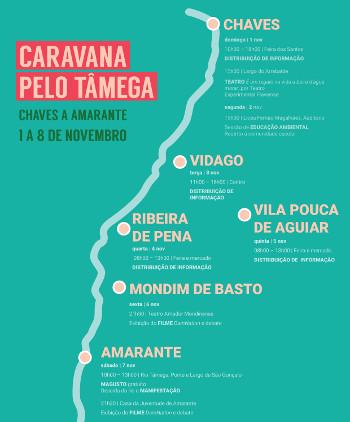 Caravana pelo Tâmega – 1 a 8 de novembro
