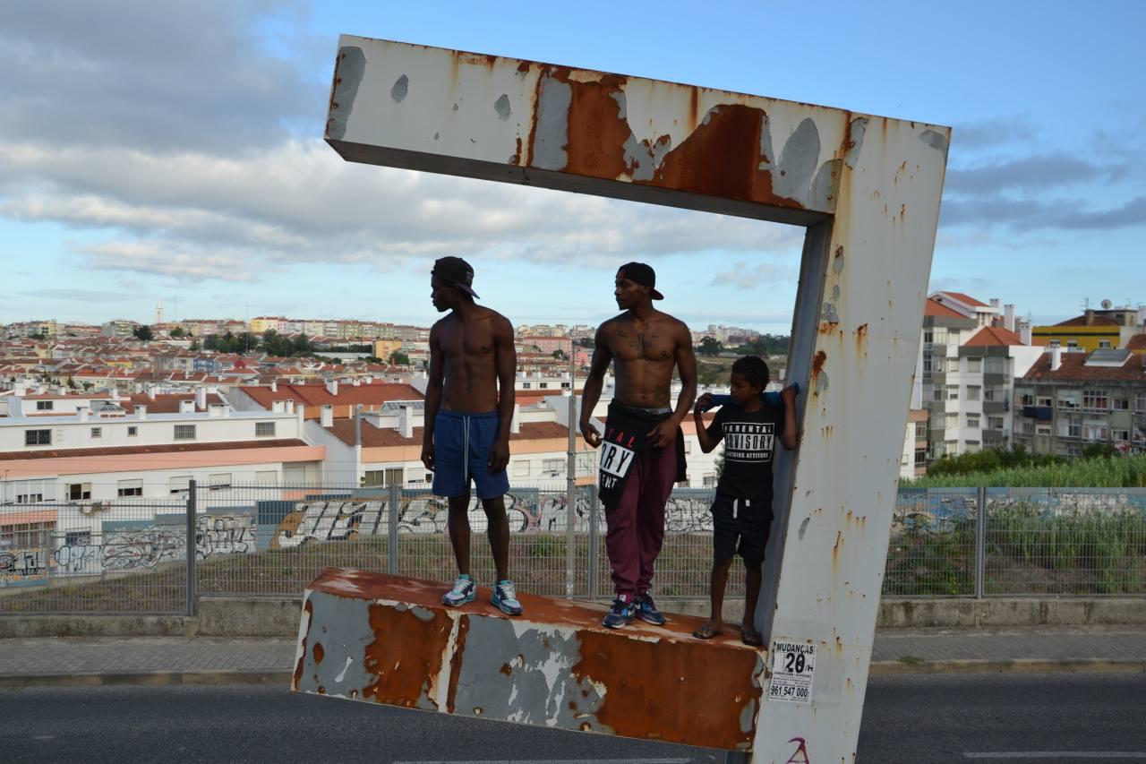 Violência policial no bairro do Pendão