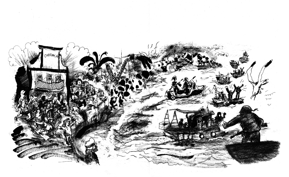 Quando os pescadores pararam os petroleiros no mar de Sines