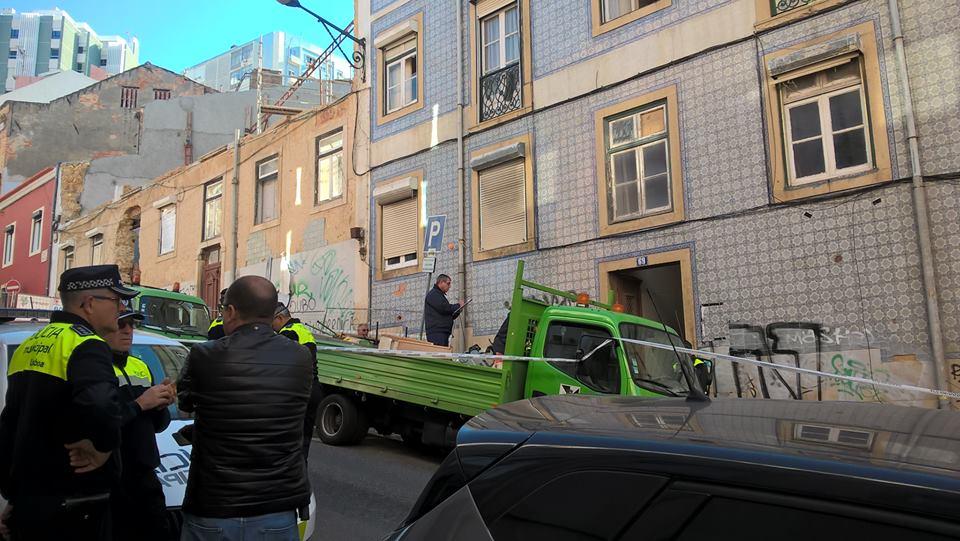 Despejo da Casa ocupada na Rua Marques da Silva