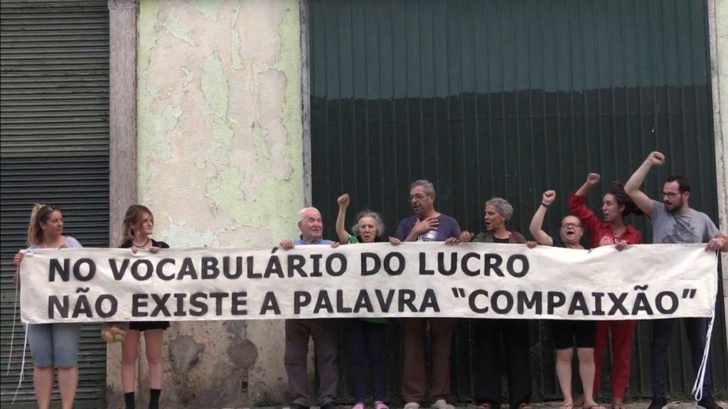 Famílias do prédio Santos Lima estão a sofrer bullying imobiliário